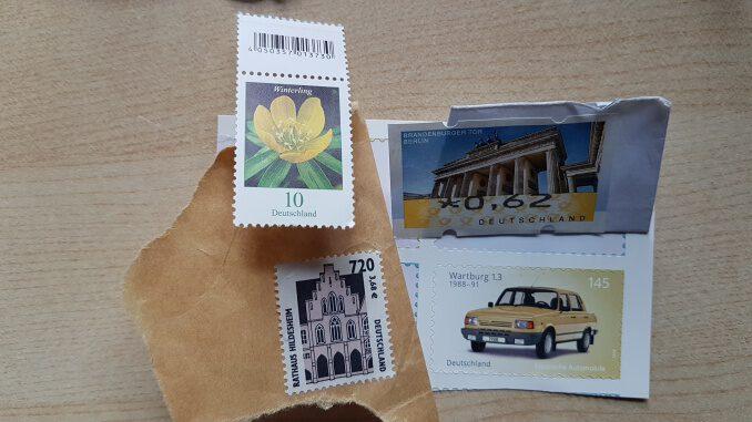 Briefmarken waren gestern - verschenken Sie kein Geld an die Post