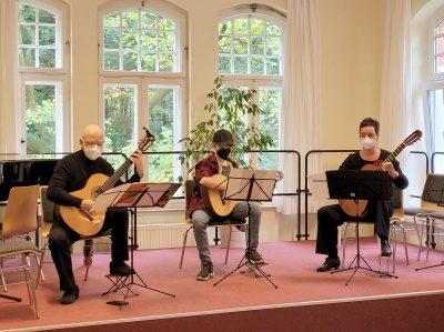Gitarrentrio Stringtime der Musikschule Gladbeck