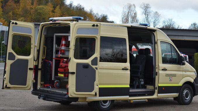 Evakuierungen in Essen: DRK Gladbeck leistet überörtliche Hilfe